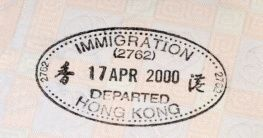 Visum Hongkong