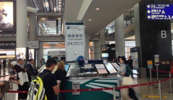 Octopus Karte am besten direkt am Flughafen kaufen