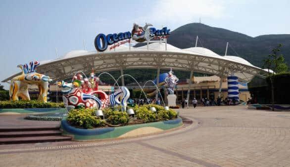 Der Ocean Park in Hong Kong