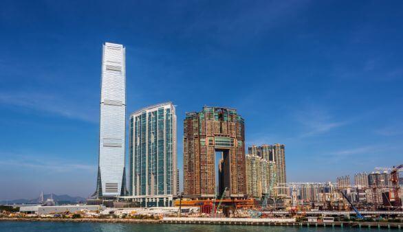 Sky 100 in Hongkong