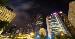 Statue Square in Hongkong