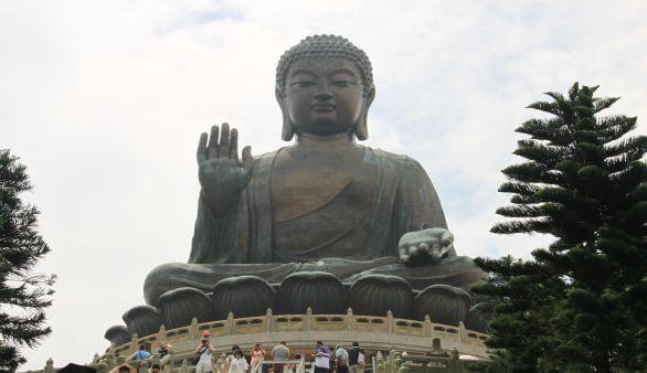 Tian Tan Buddha: der Große Buddha