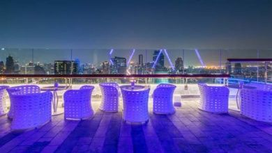 Rooftop Bar in Hongkong